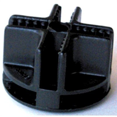 CagesCubes - Conector Negro de plastico para jaulas C&C (1 ud)