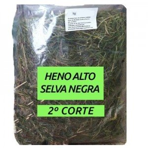Heno Alto Selva Negra premium 2º Corte para conejos y roedores 1.5 kg