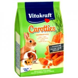 Vitakraft Carotties palitos de zanahoria para conejos, cobayas y hamsters