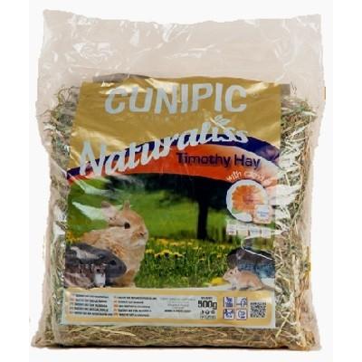 Cunipic Naturaliss Heno de Timothy con Calendula para roedores 500 gr