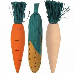Trixie Juguete mordedor masticable para roer forma hortalizas
