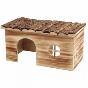 Trixie Casita GRETE de madera laminada para cobayas y chinchillas