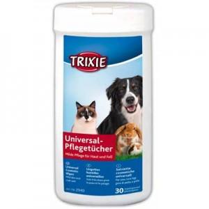 Trixie Toallitas humedas higiene corporal con Aloe Vera para conejos y roedores