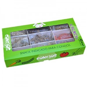 Ribero ROEDITOS snack natural pack muti-sabores para conejos