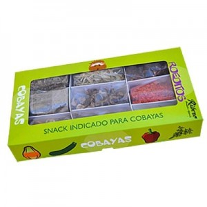 Ribero ROEDITOS snack natural pack muti-sabores para cobayas