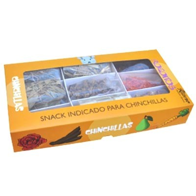 Ribero ROEDITOS snack natural pack muti-sabores para chinchillas