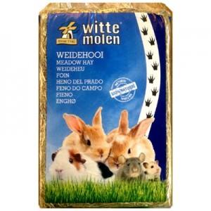 Witte Molen Heno natural de pradera para roedores