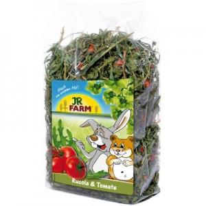 JR FARM Hojas de Rucula y tomate para conejos y roedores