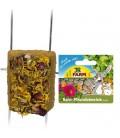JR FARM Piedra para roer de marga con flores