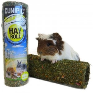 Cunipic Naturaliss Tunel comestible de heno para roedores