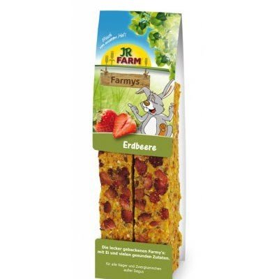 JR FARM Barritas FARMY´S Fresas para roedores