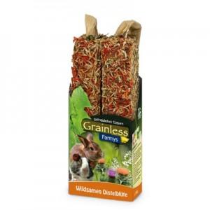 JR FARM Barritas FARMY´S Grainless con Flor de Cardo para roedores