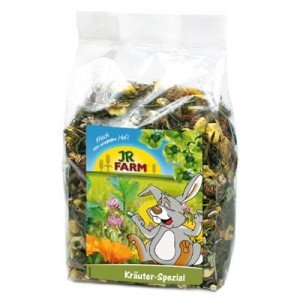 JR FARM Mix de Hierbas especiales para roedores