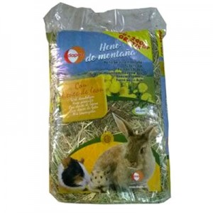 Dapac Heno Sierra de Gredos de Diente de Leon para roedores 500 gr + 200 gr Gratis
