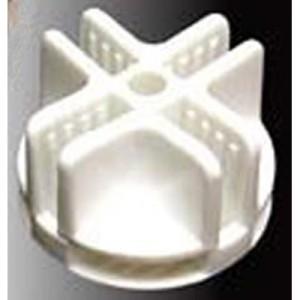 CagesCubes - Conector blanco de plastico para jaulas C&C (1 ud)