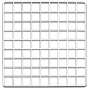 CagesCubes - Panel/Grid BLANCO de 35.5 x 35.5 cms (1 ud)