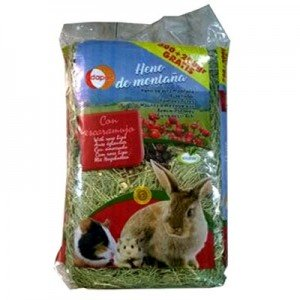 Dapac Heno Sierra de Gredos de Escaramujo para roedores 500 gr + 200 gr Gratis