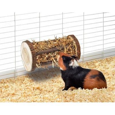 Karlie Henera cilindrica de madera para conejos y roedores