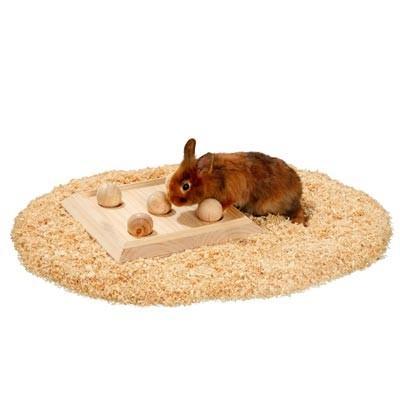 Karlie Tablero 5 bolas juego de inteligencia para conejos y roedores
