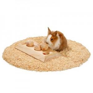 Karlie Tablero 3 bolas juego de inteligencia para conejos y roedores