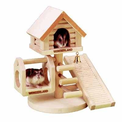 Karlie Casita en arbol para hamsters