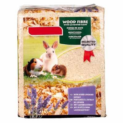 Karlie Viruta de madera para roedores 56 L (Aroma Lavanda)