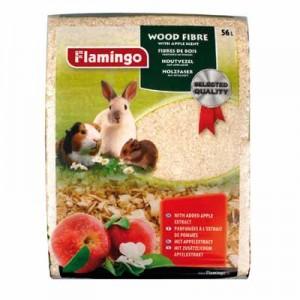 Flamingo VIruta para roedores 56 L (Aroma Manzana)