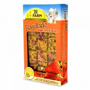 JR FARM Snack Tableta con fresas para roedores