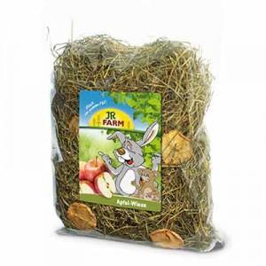 Jr Farm heno con manzana para conejos y roedores