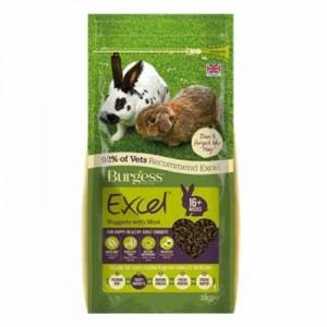 Burgess Excel Pienso con menta para conejos adultos