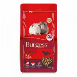Burgess Excel Pienso extrusionado para ratas