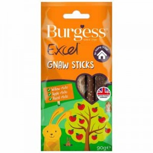 Burgess Excel sticks palos de madera para roer