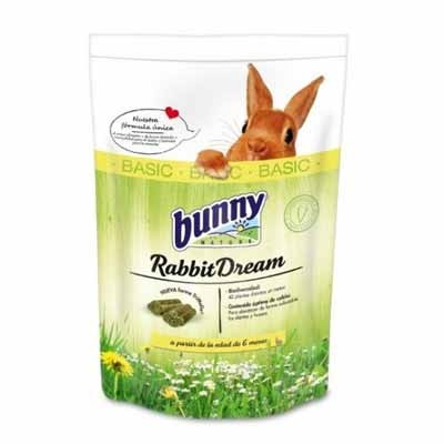 Bunny pienso para conejo adulto dream nature basic