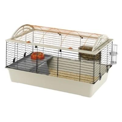 Ferplast Jaula CASITA 100 para conejos y cobayas