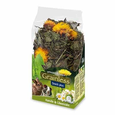 JR FARM Grainless Plus Diente de leon y Manzanilla para conejos y roedores