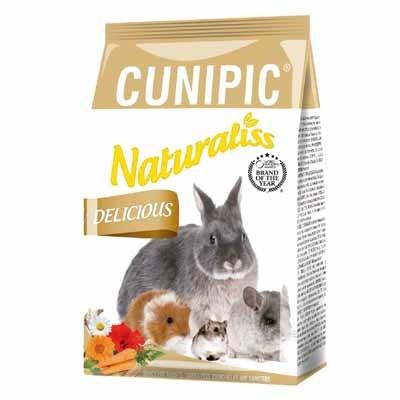 cunipic naturaliss snack delicious para conejos y cobayas