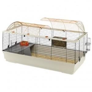 Ferplast Jaula CASITA 120 para conejos y cobayas