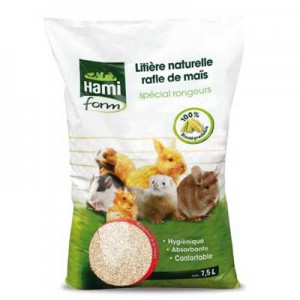 Hami Form lecho de maiz perfumado para conejos y roedores