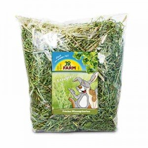 Jr Farm heno de prado con dactilo para conejos y roedores