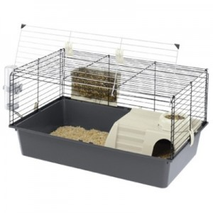 Ferplast Jaula CAVIE 80 para conejos y cobayas