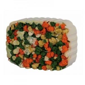 Trixie Bloque mineral para roer de Algas y Croquetas para roedores