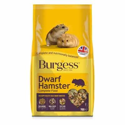 Burgess Excel Pienso para Hamsters Enanos