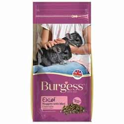 Burgess Excel pienso chinchillas