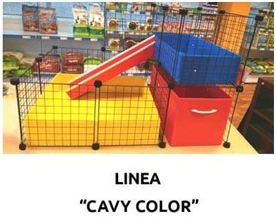 Jaula CyC Cavy Color para cobayas