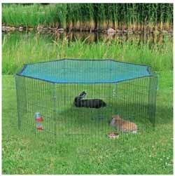 Parque para conejos