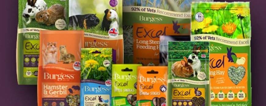 BURGESS Pet Care fabricante de productos para conejos y roedores de gran calidad