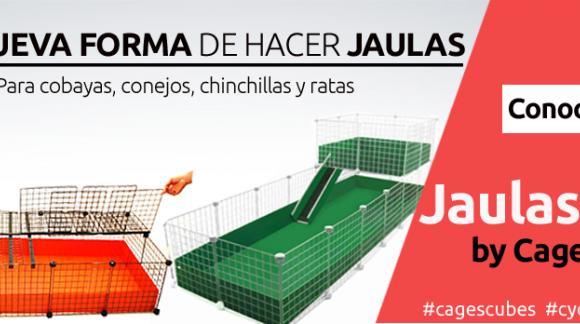 ¿ POR QUE COMPRAR UNA JAULA CyC: CAGES CUBES ?